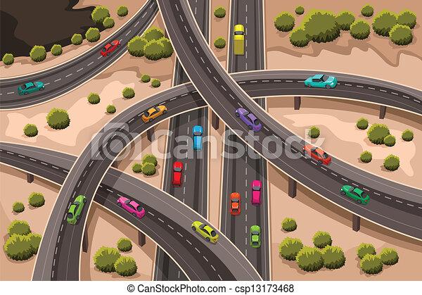 Highway - csp13173468