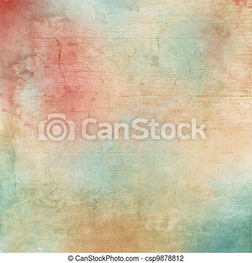 Historia textura - csp9878812