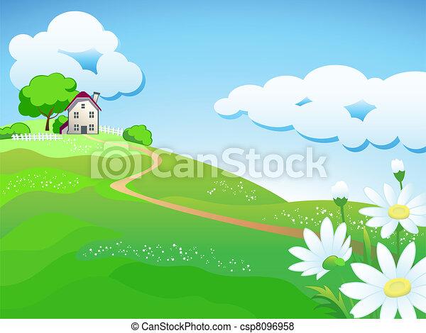 Dulce casa de campo - csp8096958