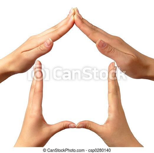 Simbol a casa - csp0280140