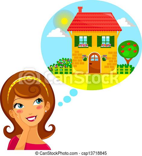 Casa de los sueños - csp13718845