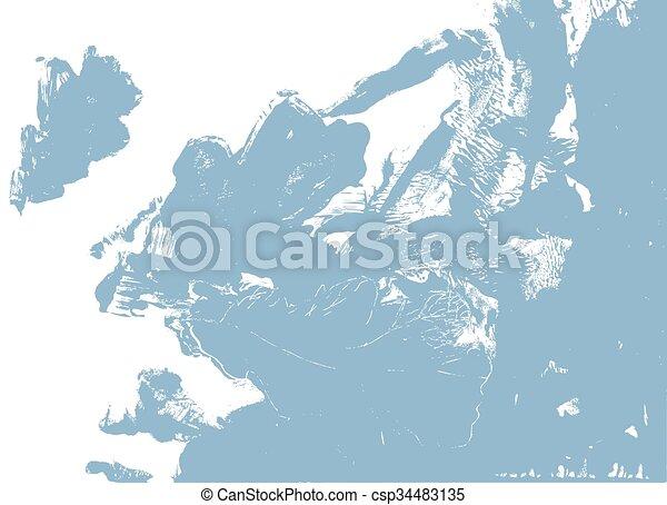 Hoja de roble. Defoliación de otoño en la naturaleza - csp34483135