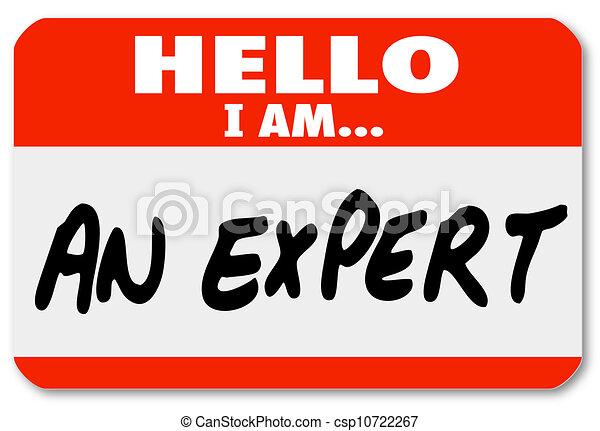 Hola, soy un experto en etiquetas de identificación - csp10722267