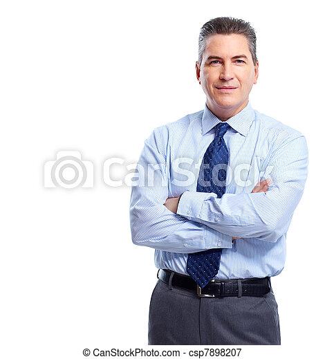 Hombre de negocios. - csp7898207