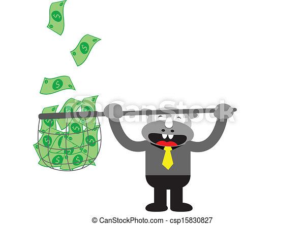 Hombre de negocios Rhino - csp15830827