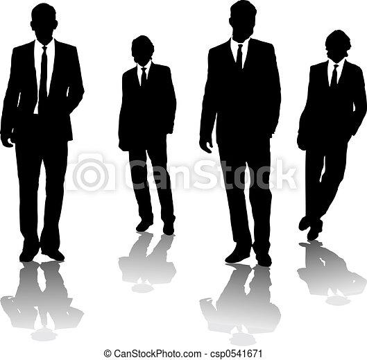 Hombres de negocios - csp0541671