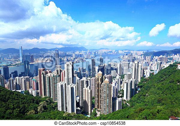 Hong Kong - csp10854538