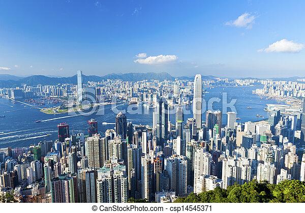 Hong Kong - csp14545371