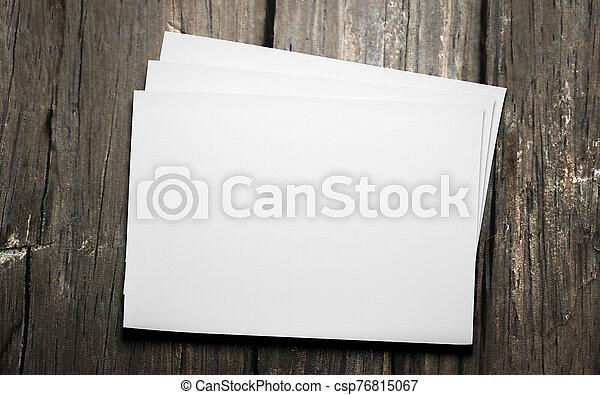 horicontal, diseño, ilustración, madera, vacío, hojas, render, aislado, plano de fondo, reemplazar, 3d, oscuridad, su, blanco - csp76815067