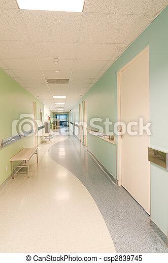 Hall en el hospital - csp2839745