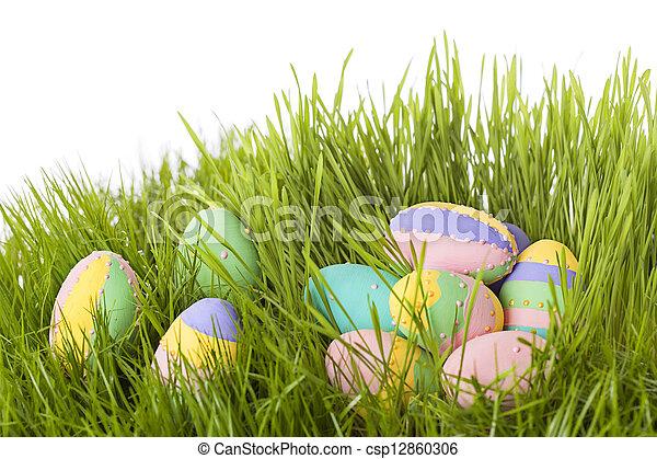 Huevos de Pascua - csp12860306