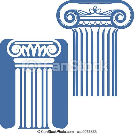 Columnas iónicas - csp9266383