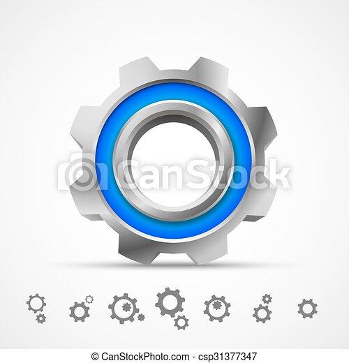Icono 3D - csp31377347