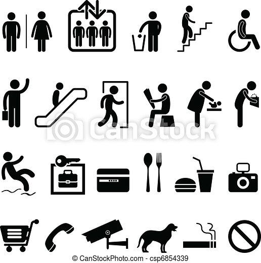 Un icono del centro comercial - csp6854339
