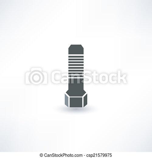 icono de tornillo - csp21579975