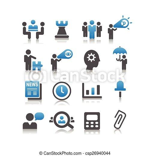 Icono del concepto de negocios - csp26940044