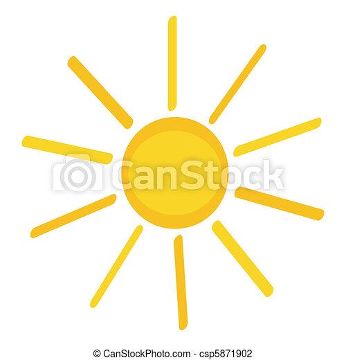 icono solar - csp5871902