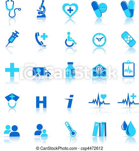Íconos de salud - csp4472612