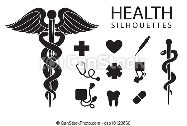 iconos de la salud - csp10120860