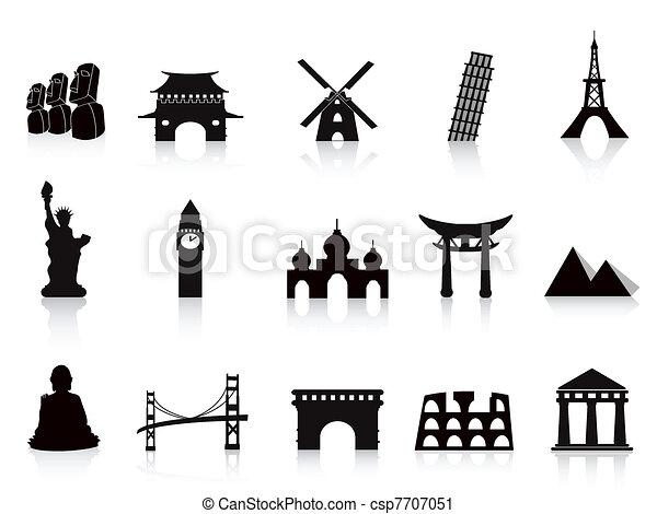 iconos de marca negra - csp7707051