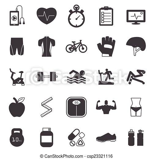 iconos en forma - csp23321116
