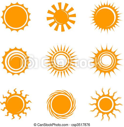 iconos solares - csp3517876