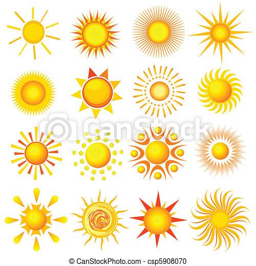 iconos solares - csp5908070