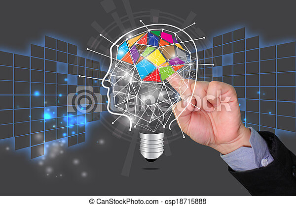 Concepto de Educación, idea compartida, conocimiento - csp18715888