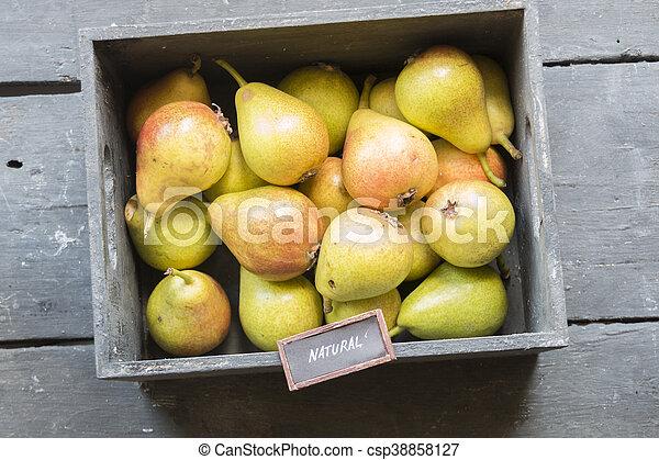 Idea de comida natural - csp38858127