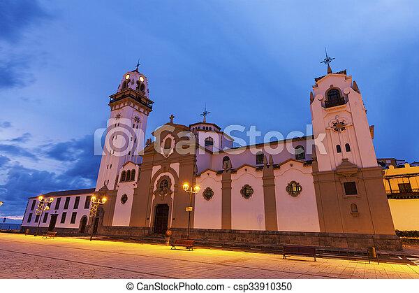Iglesia Candelaria - csp33910350