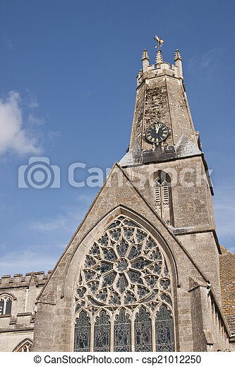 Iglesia Cotswold - csp21012250