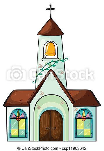 Una iglesia - csp11903642