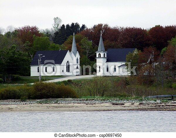 Dos iglesias - csp0697450