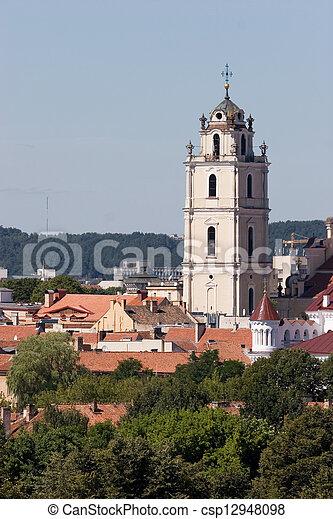 Iglesias de Vilnius - csp12948098
