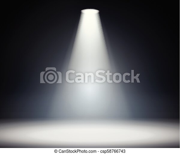 Iluminación desde arriba - csp58766743