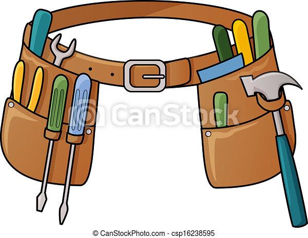 Ilustración de herramientas - csp16238595
