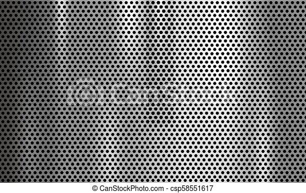 Ilustración de vector de vector de origen metal - csp58551617
