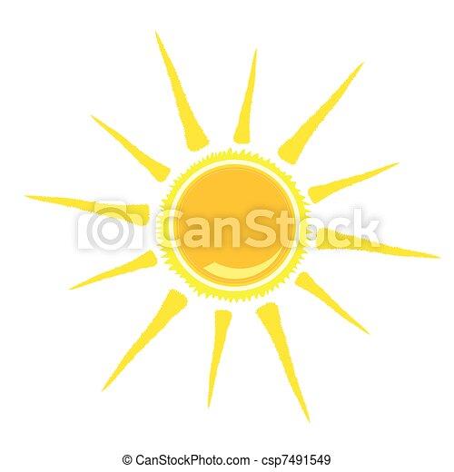 Ilustración del vector solar - csp7491549