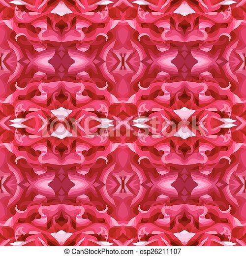 Ilustración vectorial de un parloteo rojo - csp26211107