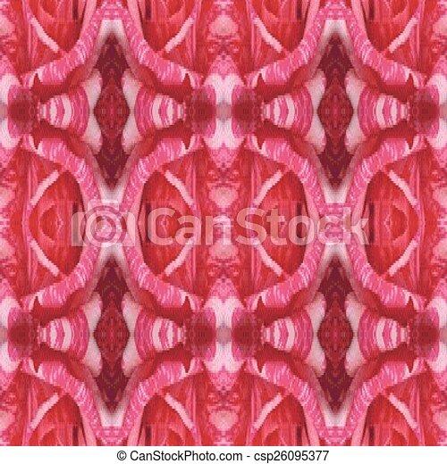 Ilustración vectorial de un parloteo rojo - csp26095377