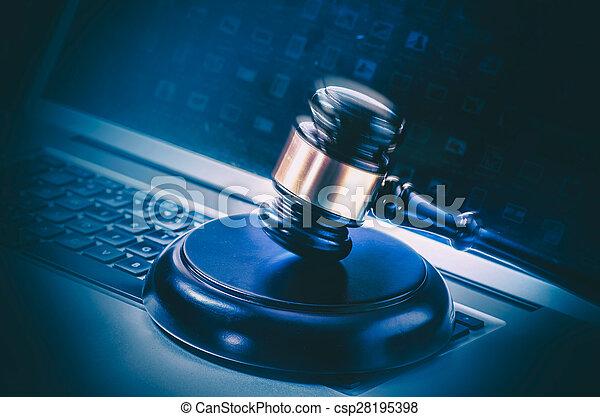 Imágenes de leyes legales - csp28195398
