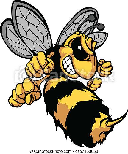 La imagen del vector de escarabajo - csp7153650