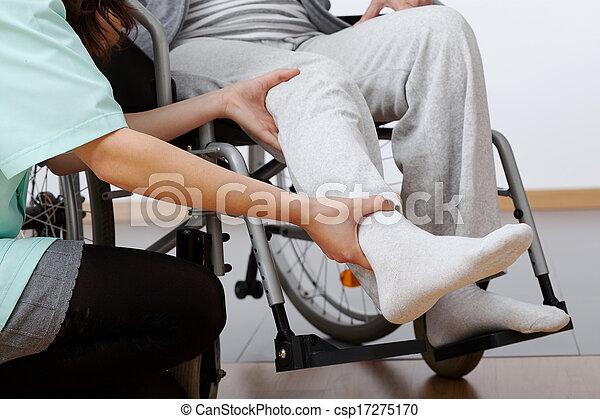 Rehabilitación desactivada - csp17275170