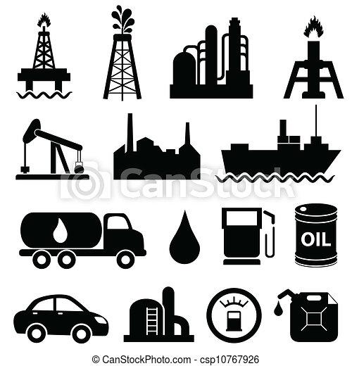 El icono de la industria petrolera - csp10767926