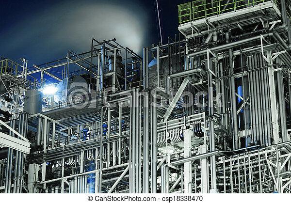 Complejo industrial - csp18338470