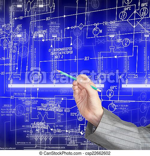 Plan industrial - csp22662602