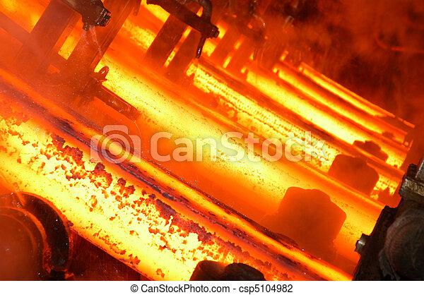Un fondo industrial - csp5104982
