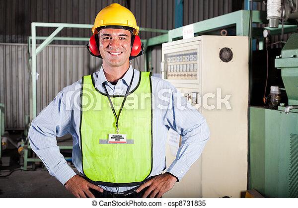 Oficial de Salud y Seguridad Industrial - csp8731835