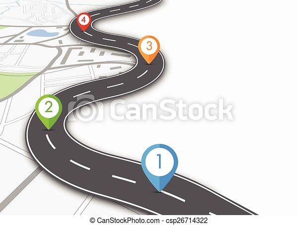Información de carretera - csp26714322