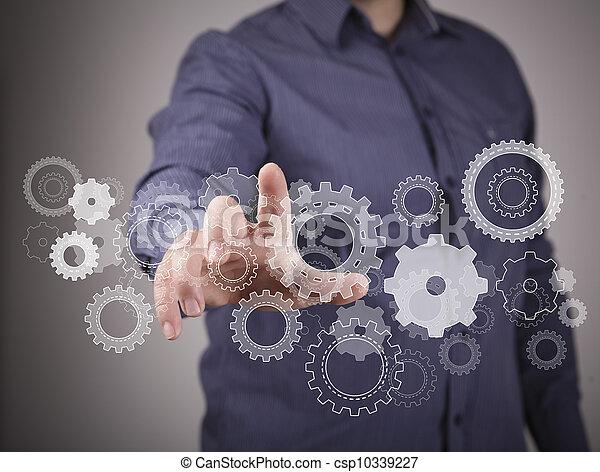 Ingeniería y imagen de diseño - csp10339227